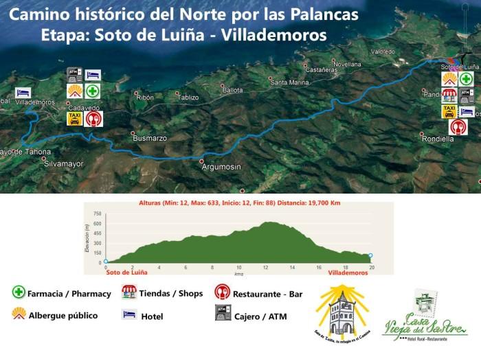 Camino histórico Palancas