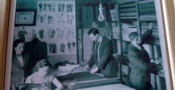 familia en 1945